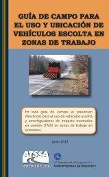 guía de campo para el uso y ubicación de vehículos escolta en ...