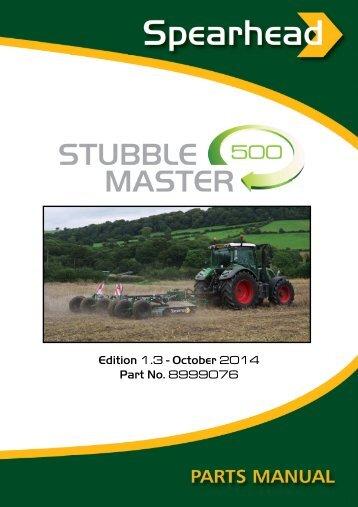 Stubble Master 500 - Spearhead Machinery Ltd