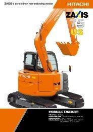 ZX75US-3 - Hitachi Construction Machinery