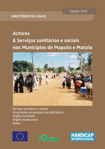 Actores & Serviços sanitários e sociais nos Municípios de Maputo e ...