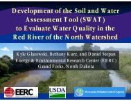 Development of the Soil and Water Assessment Tool (SWAT) to ...