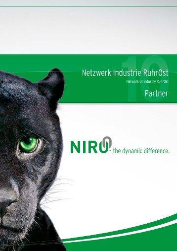 NEU: Die NIRO-Broschüre 2010 zum Download