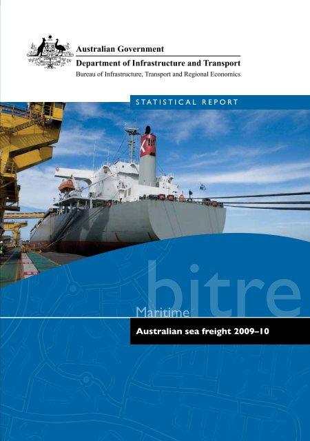 2009–10 - Bureau of Infrastructure, Transport and Regional ...