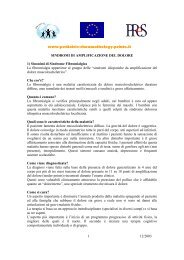 www.pediatric-rheumathology.printo.it 12/2003 1 SINDROMI DI ...