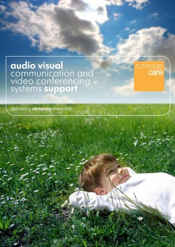 audio visual communication and video conferencing systems support