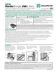 James Hardie HZ5 Shingles - Cedar Siding Inc.
