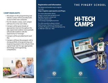 HI-TECH CAMPS - Pingry School