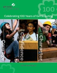 2011 Annual Report - Girl Scouts of Greater Atlanta