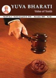 November 2011.pdf - Vivekananda Kendra Prakashan