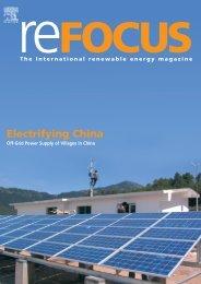 Electrifying China - SMA Solar Technology AG