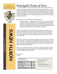 Family Newsletter Sept-Oct 2009 - Grayslake North High School