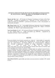 estudo da repetitividade do ensaio da determinação do excesso de ...