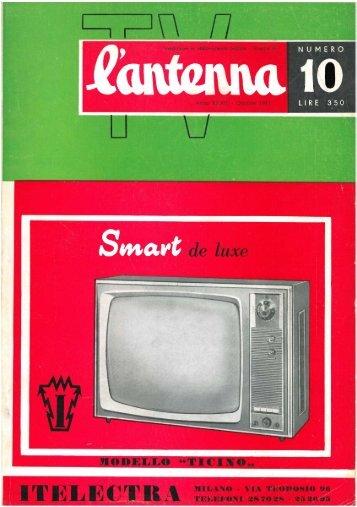 L'antenna 1961 - 10 - Italy