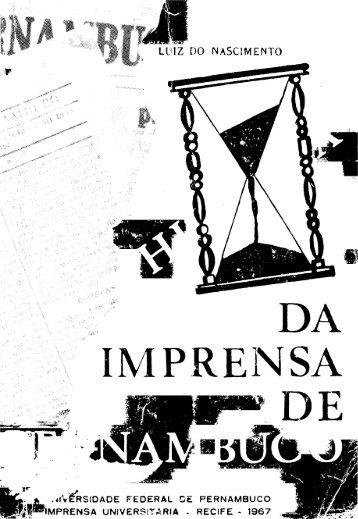 Volume 1 - Fundação Joaquim Nabuco