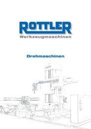 Werkzeugmaschinen Drehmaschinen - Rottler Werkzeugmaschinen