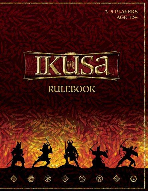 Ikusa Rulebook (12 mb pdf) - Wizards of the Coast