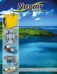 Nuvair High Pressure and Nitrox Compressor Catalog