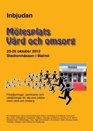 Inbjudan Mötesplats 2012_webb.pdf - Kommunförbundet Skåne