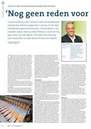 interview met Vincent Weijers in EVO Logistiek