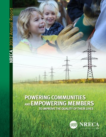 2012 NRECA Annual Report - National Rural Electric Cooperative ...