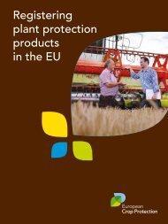 Registering plant protection products in the EU - European Crop ...