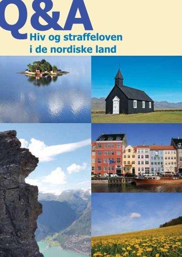 Hiv og straffeloven i de nordiske land - HivNorge