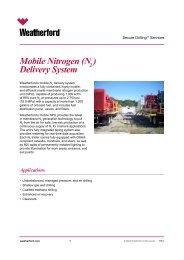 Mobile Nitrogen (N ) Delivery System