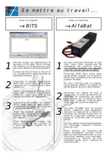 →→→ AlfaBat Se mettre au travail... - Emrol