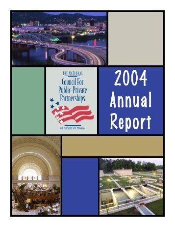 Annual Report 2004 - The National Council for Public-Private ...