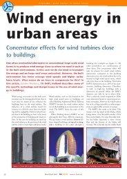 EATURE Wind Energy In Urban Areas - TU Delft