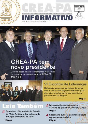 Janeiro/Fevereiro - CREA-Pa