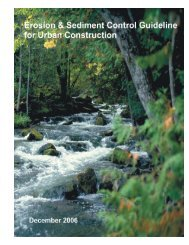 Erosion and Sediment Control Guideline for Urban Construction
