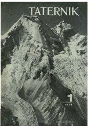 Taternik 1 1979 - Polski Związek Alpinizmu