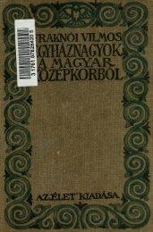 Egyháznagyok a magyar középkorból