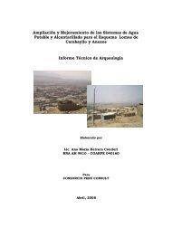 Informe Tecnico de Arqueologico.pdf - sedapal.com.pe