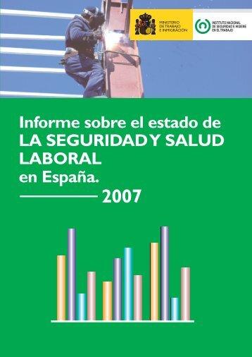 Informe sobre el estado de la seguridad y salud laboral en España ...