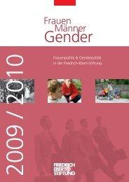 Frauen - Männer - Gender - Bibliothek der Friedrich-Ebert-Stiftung