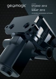 3D REVERSE ENGINEERING SOFTWARE - Geomagic