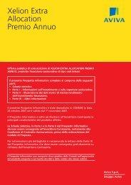 Xelion Extra Allocation Premio Annuo - Aviva