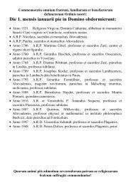 Die 1. mensis ianuarii pie in Domino obdormierunt: