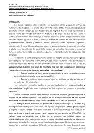 TP Nº 6 Nutrición mineral en vegetales. - Facultad de Ciencias ...