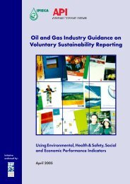 Oil and Gas Industry Guidance on Voluntary ... - CommDev
