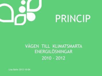 Göteborg - Energi PRINCIPS