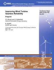 Improving Wind Turbine Gearbox Reliability: Preprint - Lenox