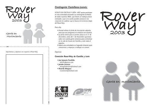 RoverWay 2003. Portugal - mSc