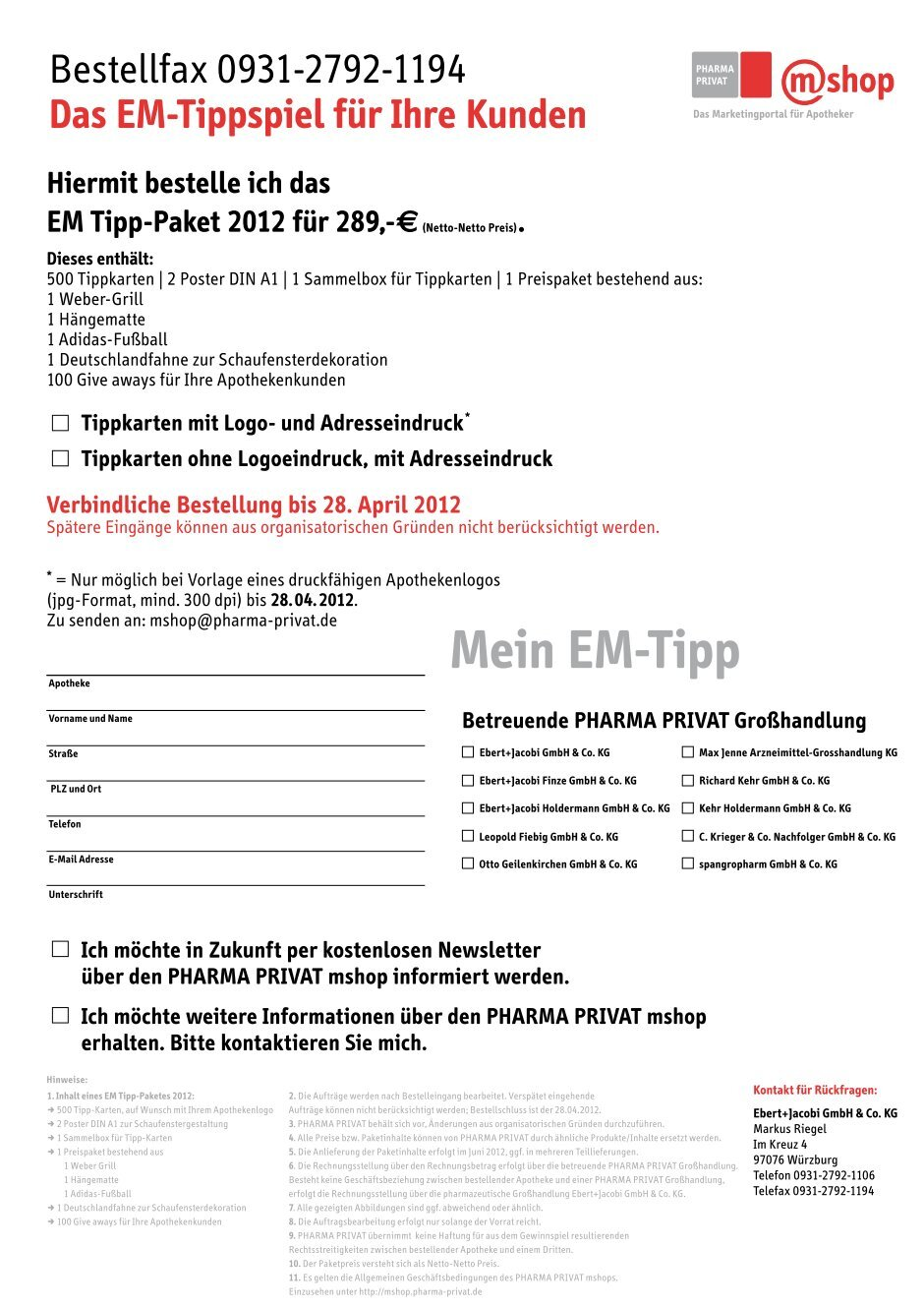 1 Free Magazines From Pharma Privat Mshop Marketing De