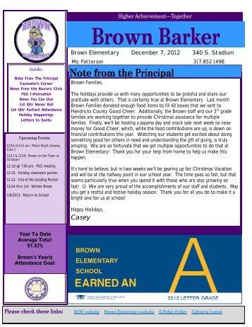 Brown Barker - Brownsburg Community School Corporation