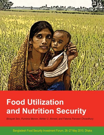 Food Utilization and Nutrition Security - BIDS