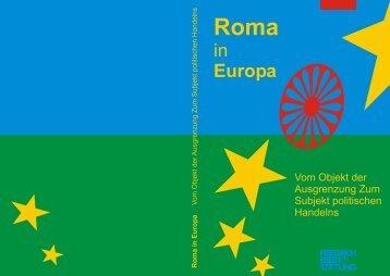 roma in europa - FRIEDRICH EBERT STIFTUNG Office in Skopje