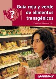 Guía roja y verde de alimentos transgénicos - David Hammerstein